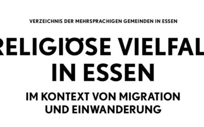 """Broschüre erschienen: """"Religiöse Vielfalt im Kontext von Migration und Einwanderung"""""""