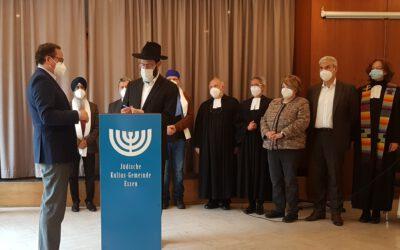 IRE und OB Thomas Kufen unterzeichnen Erklärung gegen Judenfeindlichkeit