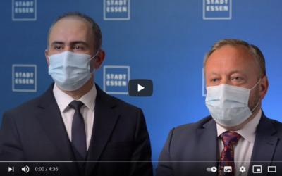 Stadt Essen veröffentlicht Infos zum Coronavirus auf Türkisch und Albanisch