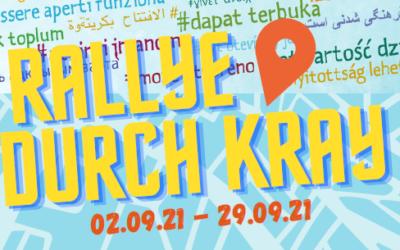 #offengeht-Rallye durch Kray vom 02.-29.09.2021